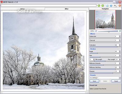 AKVIS Sketch Screenshot 3