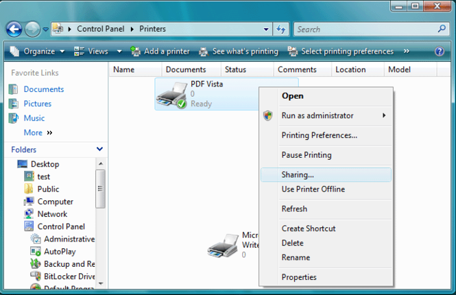 PDF Vista Server Screenshot 1