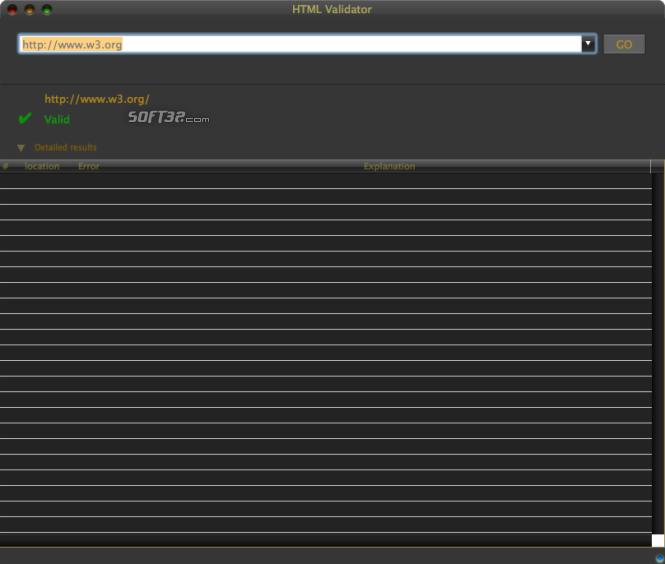 HTML Validator Screenshot 2