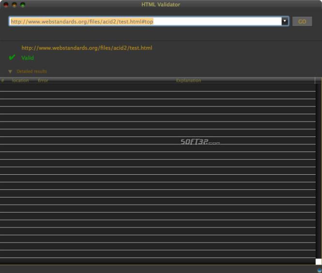 HTML Validator Screenshot 3