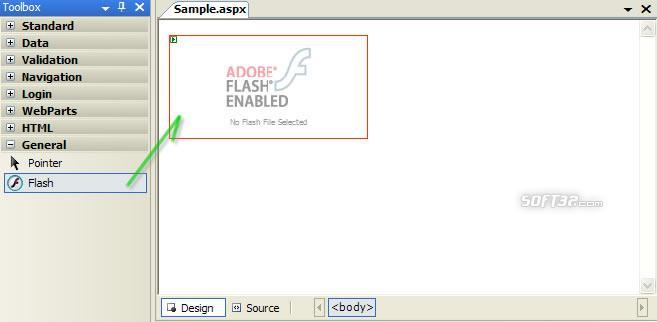 ASPNetFlash Screenshot 2