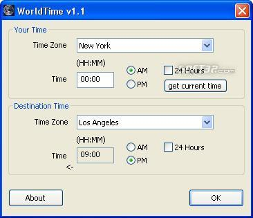 WorldTime Screenshot