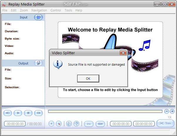 Replay Media Splitter Screenshot 2
