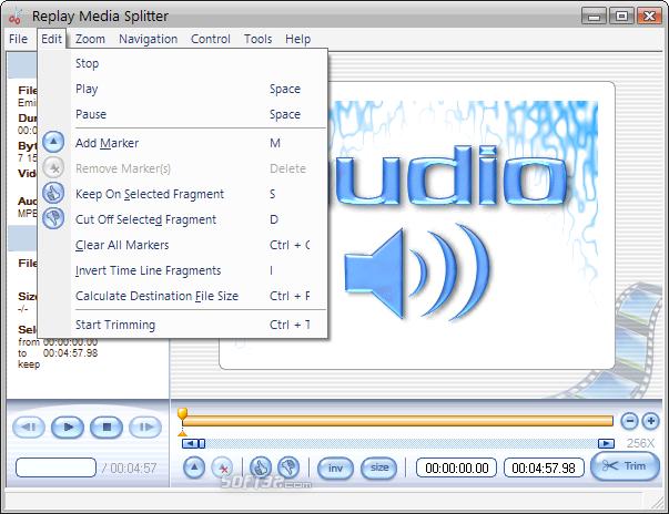 Replay Media Splitter Screenshot 4