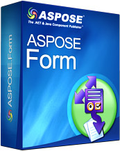 Aspose.Form for .NET Screenshot