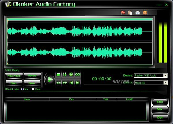 Okoker Audio Factory Screenshot 3