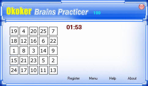 Okoker Brains Practicer Screenshot