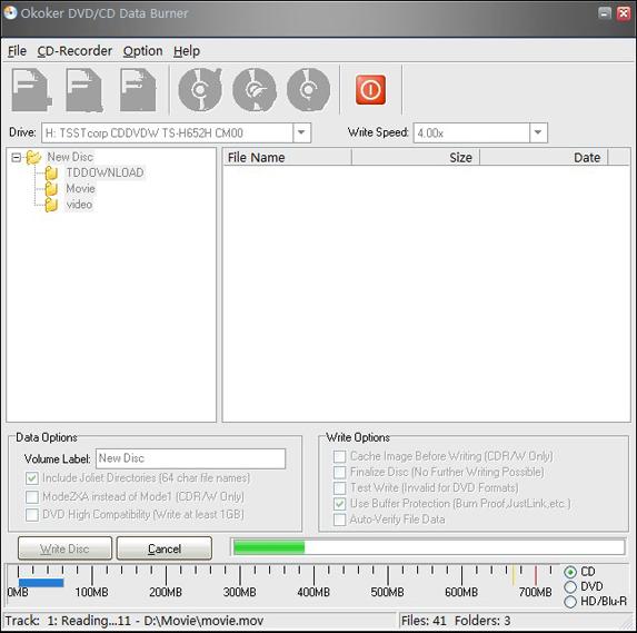 Okoker CD&DVD Burner - Free download and software reviews ...