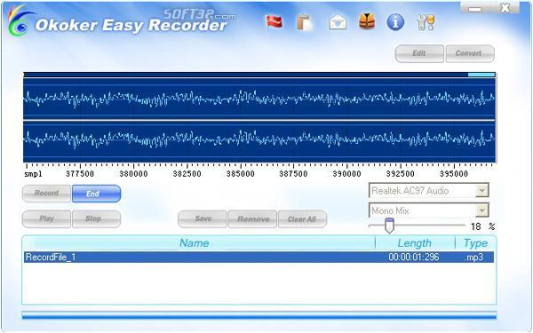 Okoker Easy Recorder Screenshot 3