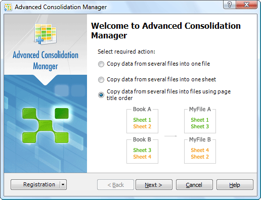 Advanced Consolidation Manager Screenshot