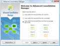 Advanced Consolidation Manager 1