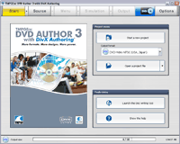 TMPGEnc DVD Author 3 with DivX Authoring Screenshot