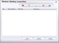 Okoker hotkey Launcher 1