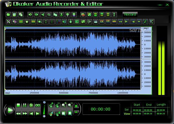 Okoker Audio Recorder&Editor Screenshot 3