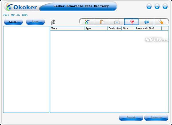Okoker Removable Data Recovery Screenshot 3