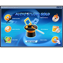 Audio Studio Gold Screenshot