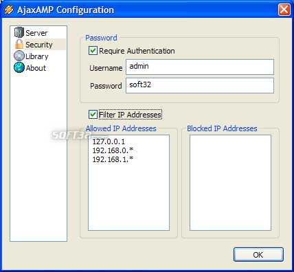 AjaxAMP Screenshot 5