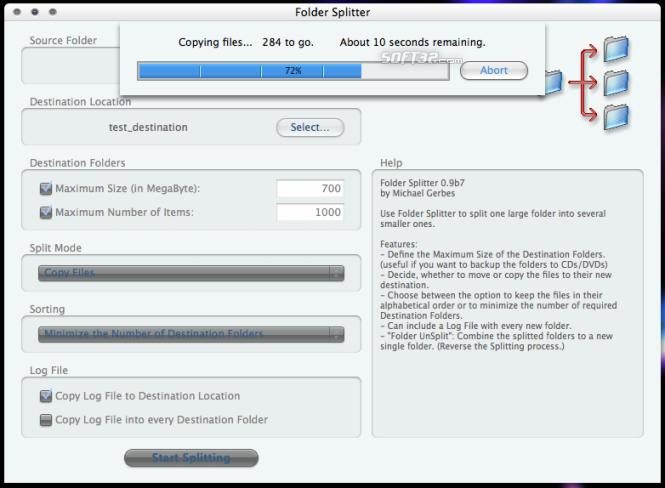 Folder Splitter Screenshot 4