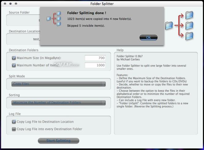 Folder Splitter Screenshot 5