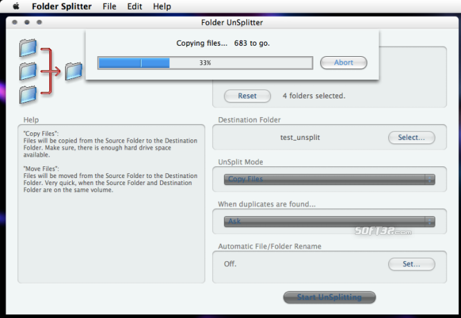 Folder Splitter Screenshot 8