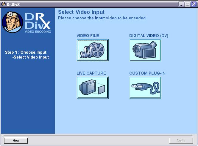 Dr. DivX Screenshot