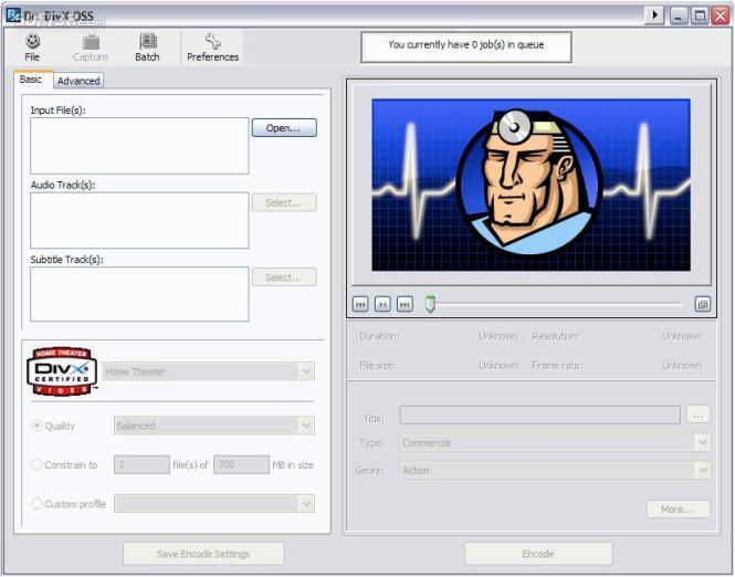 Dr. DivX Screenshot 3