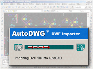 Auto DWF to CAD converter Screenshot