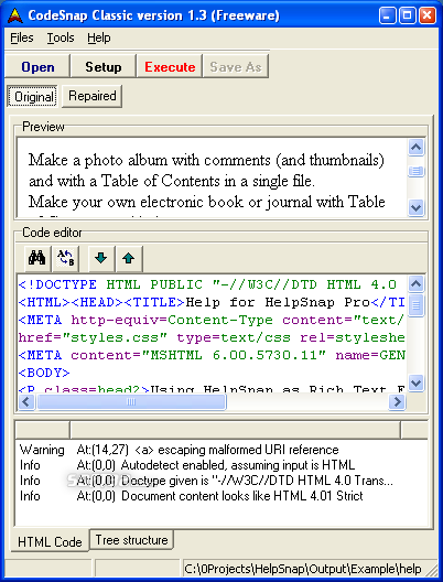 CodeSnap Classic Screenshot 1