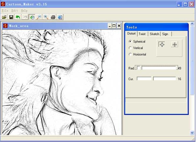 Cartoon Maker Screenshot 1