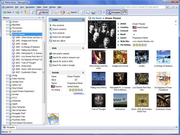 Melomania Screenshot