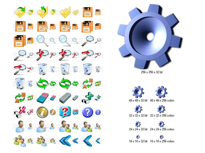 Large Icons for Vista Screenshot