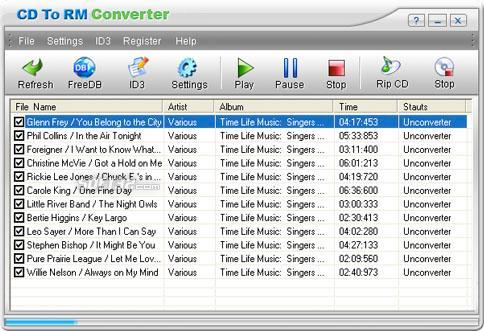 CD To RM Converter Screenshot 3