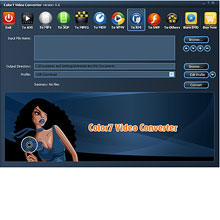 Color7 Video Converter Screenshot