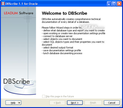 DBScribe for Oracle Screenshot 3