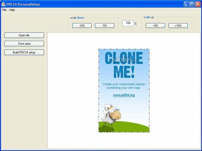 PDF24-personalizer Screenshot 3