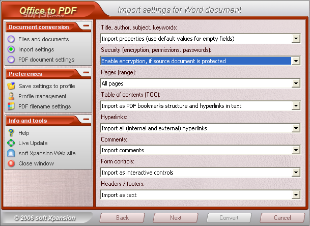 Office to PDF Screenshot 3