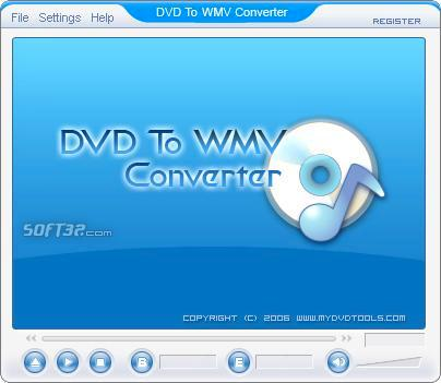 DVD To WMV Ripper Screenshot 2