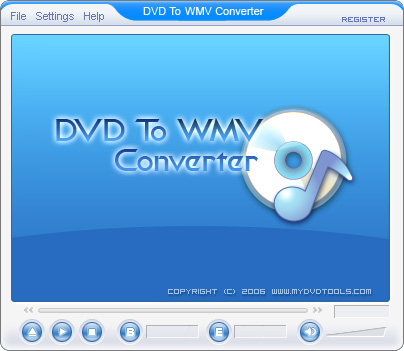 DVD To WMV Ripper Screenshot