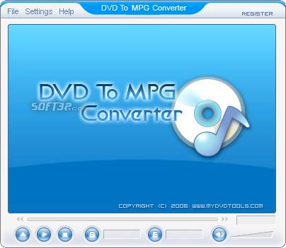 DVD To MPEG Ripper Screenshot 2