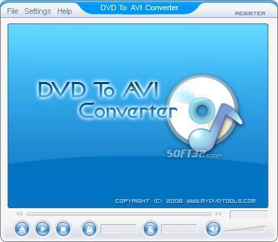 DVD To AVI Ripper Screenshot 2