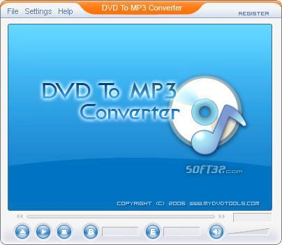 DVD To MP3 Ripper Screenshot 2