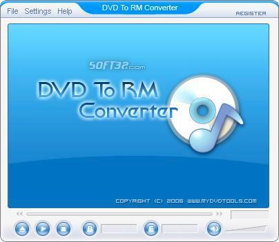DVD To RM Ripper Screenshot 2