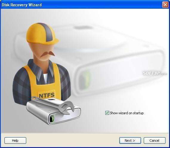 NTFS Data Recovery Screenshot 2