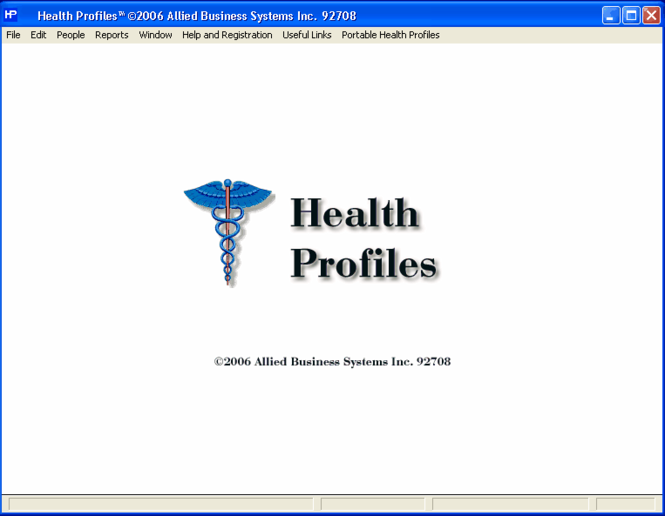 Health Profiles Screenshot