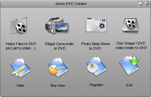 Quick DVD Creator Screenshot 1