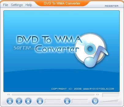 DVD To WMA Ripper Screenshot 3