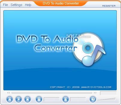 DVD To Audio Ripper Screenshot 3