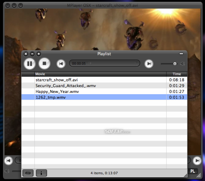 MPlayer Screenshot 2