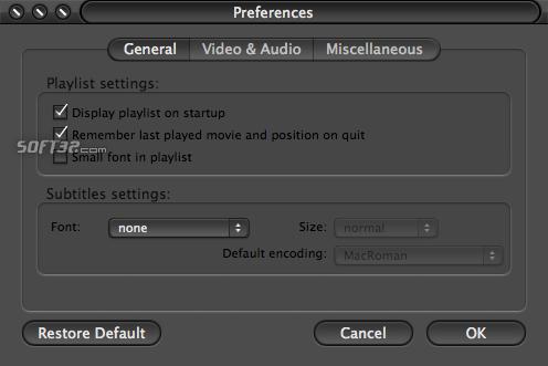 MPlayer Screenshot 3