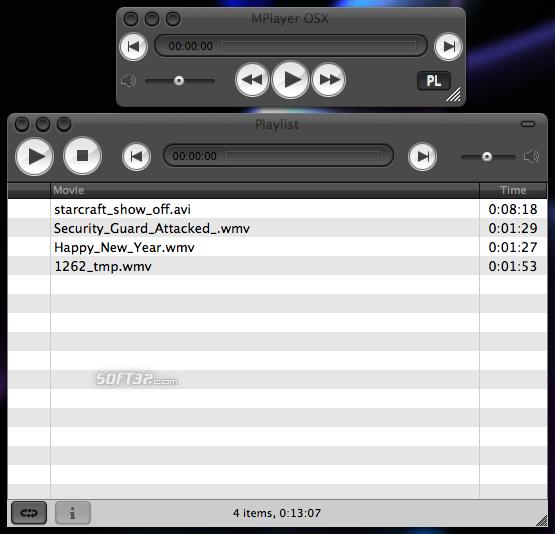 MPlayer Screenshot